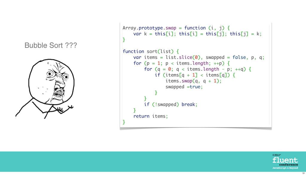 Array.prototype.swap = function (i, j) { var k ...