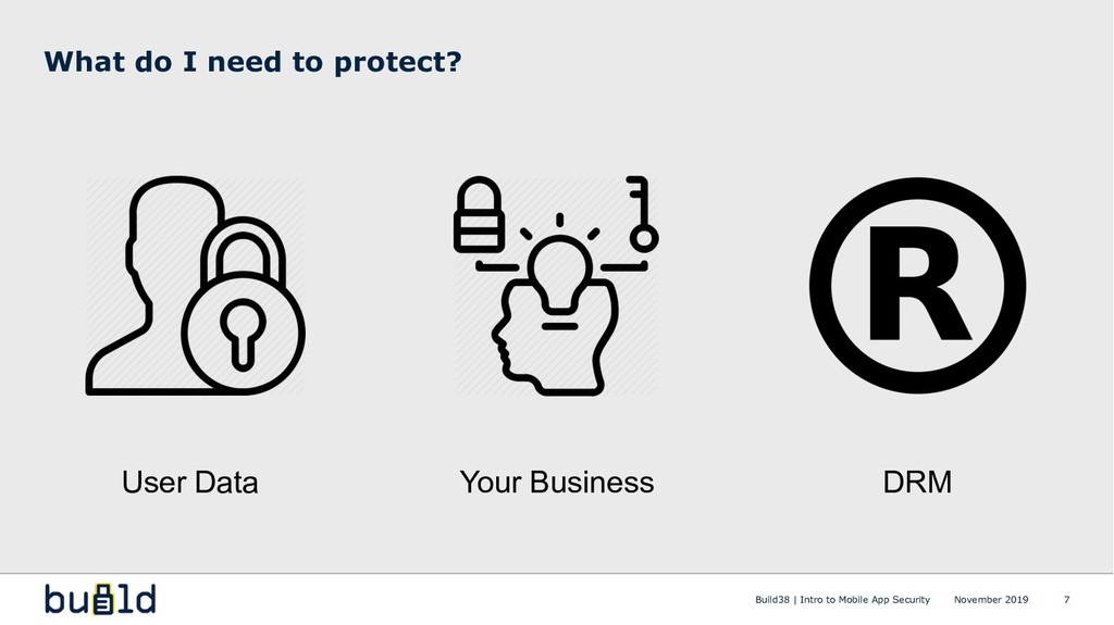 What do I need to protect? Build38 | Intro to M...