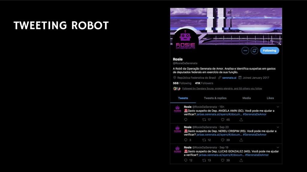 TWEETING ROBOT