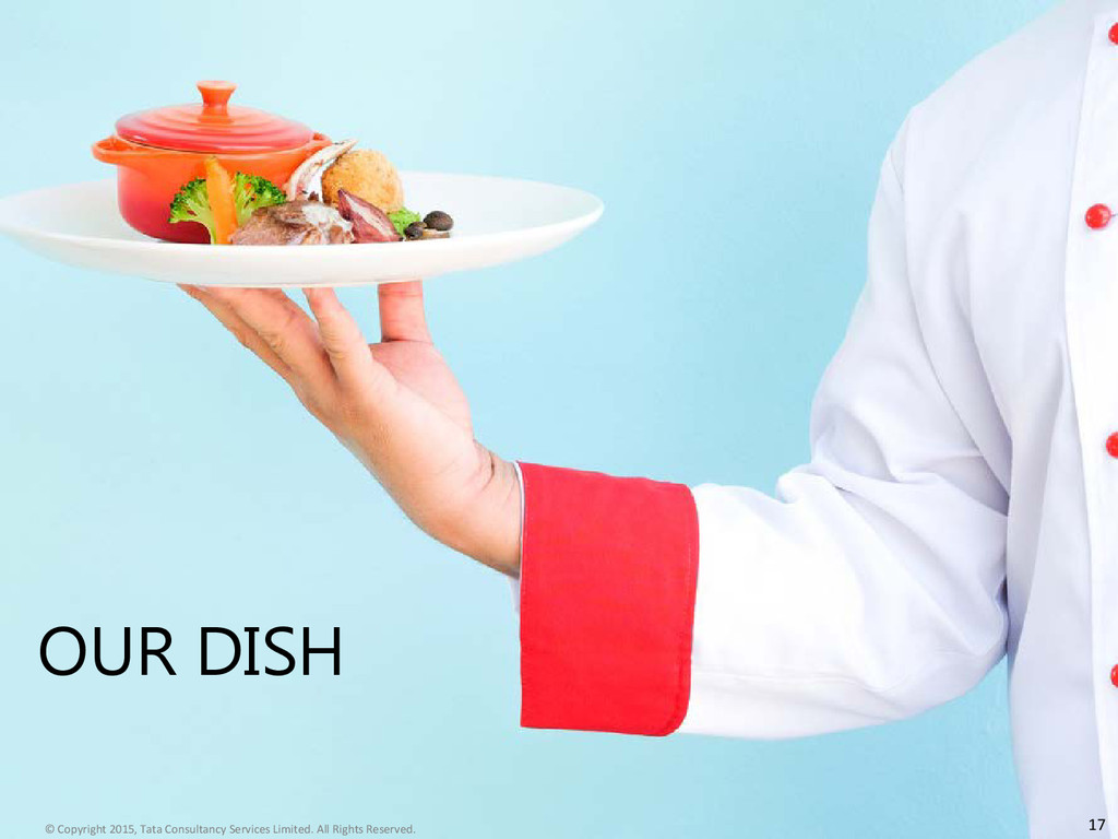 OUR DISH 17 © Copyright 2015, Tata Consultancy ...