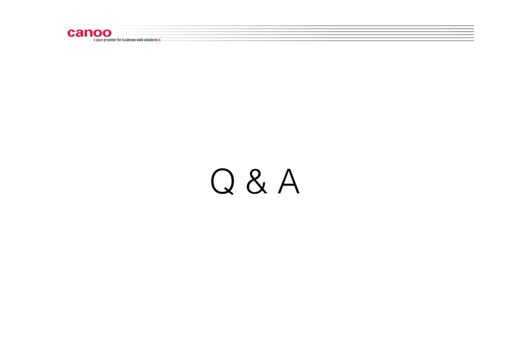 Q & A!