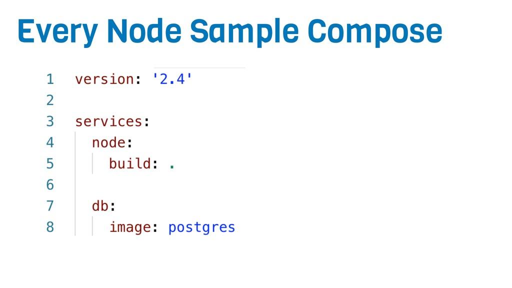Every Node Sample Compose
