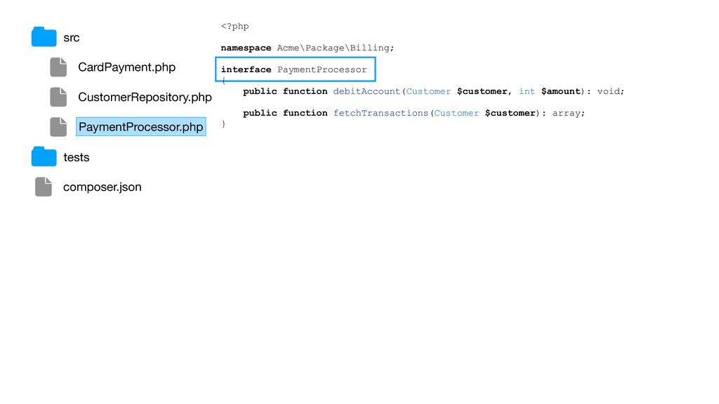 src composer.json tests CardPayment.php Custome...