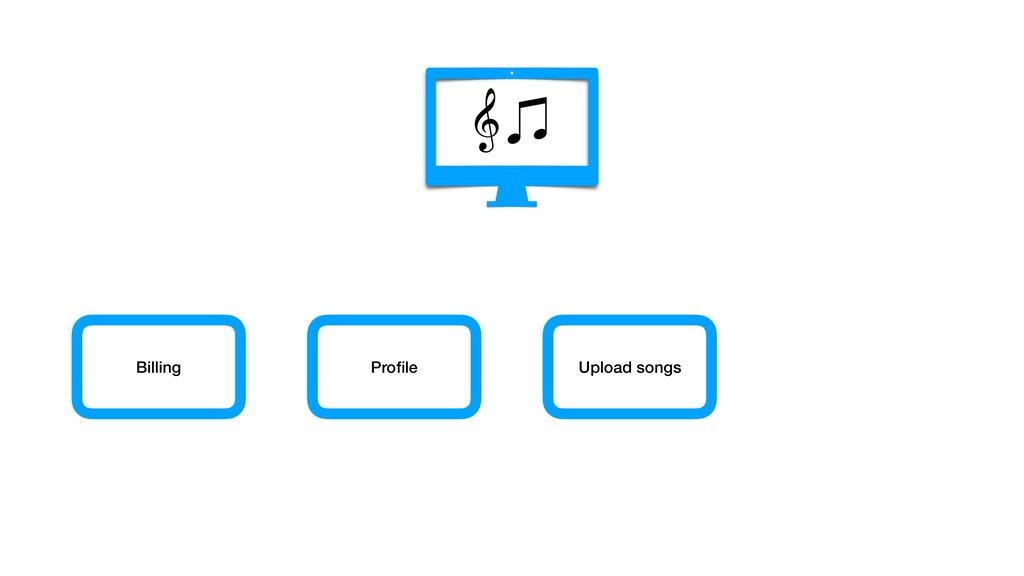 Billing Profile Upload songs