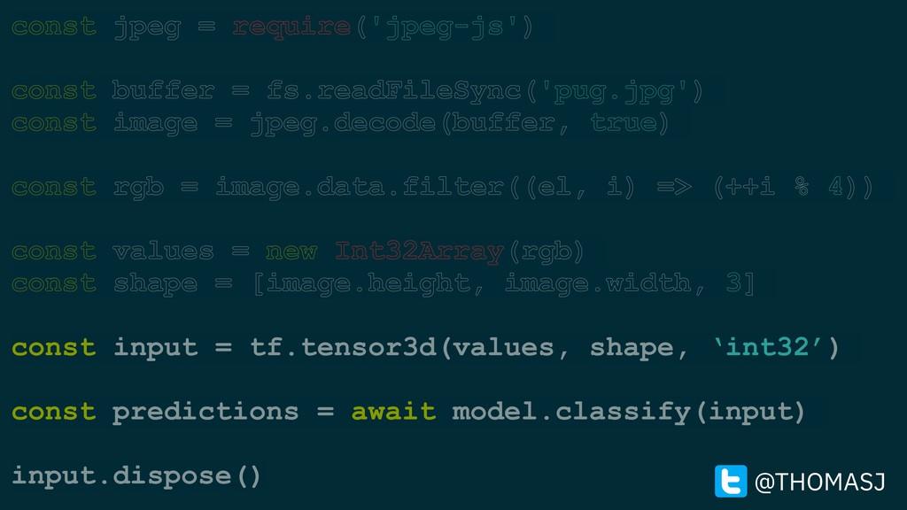 const jpeg = require('jpeg-js') const buffer = ...