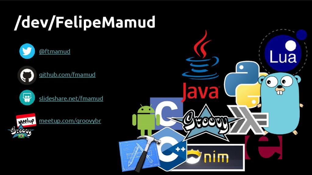 /dev/FelipeMamud @ftmamud github.com/fmamud mee...
