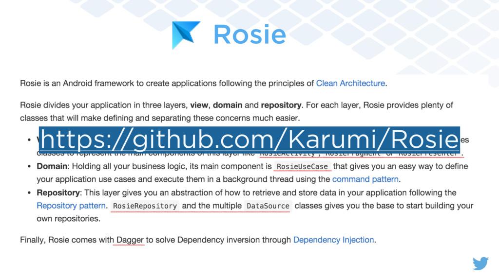 Rosie https://github.com/Karumi/Rosie