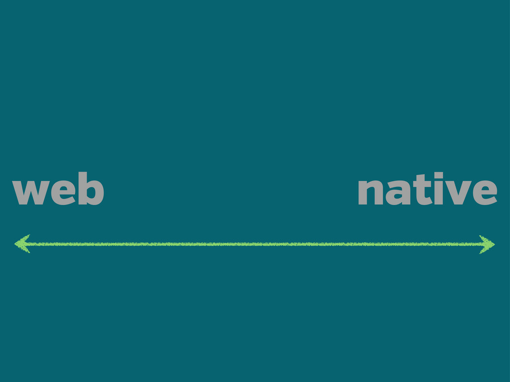 web native