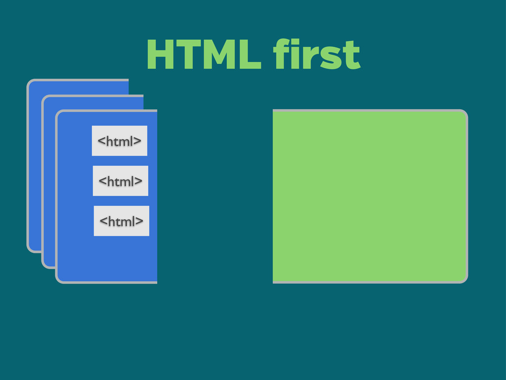 <html> <html> <html> HTML irst