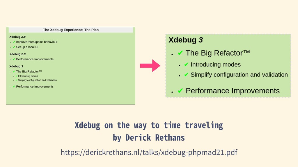 Xdebug on the way to time traveling by Derick R...