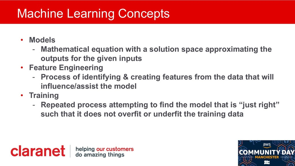 Machine Learning Concepts • Models - Mathematic...