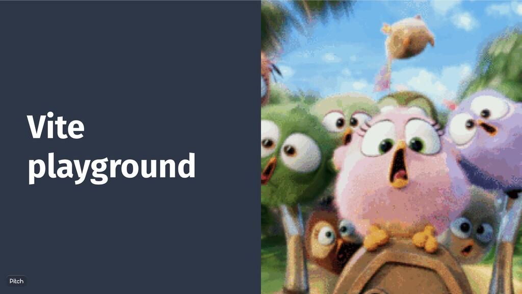 Vite playground