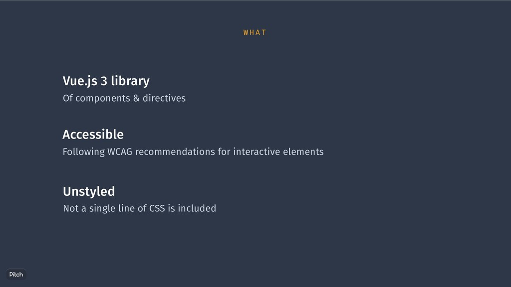 Vue.js 3 library Of components & directives Acc...