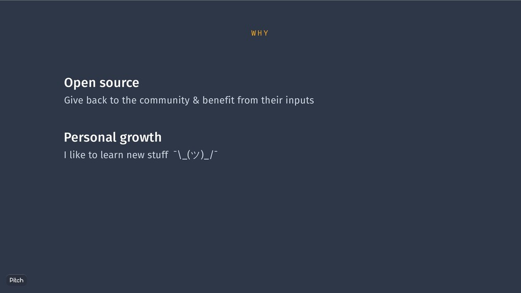 Open source Give back to the community & benefi...