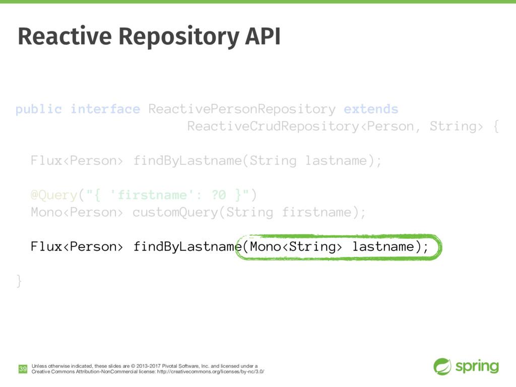 public interface ReactivePersonRepository exten...