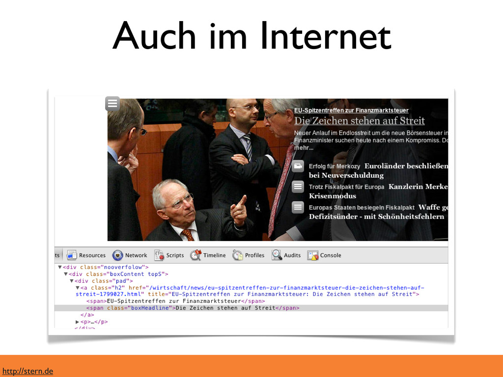 Auch im Internet http://stern.de