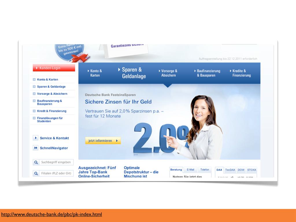 http://www.deutsche-bank.de/pbc/pk-index.html