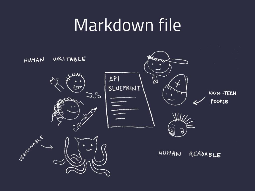 Markdown file