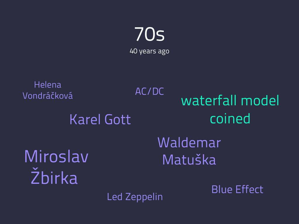 70s 40 years ago Karel Gott Waldemar Matuška Bl...