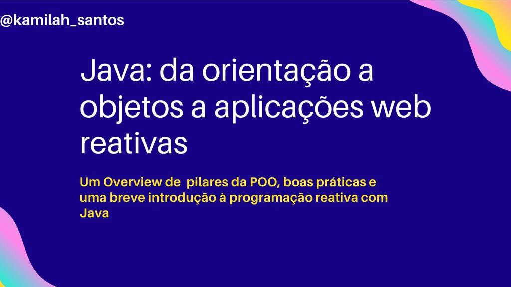 Java: da orientação a objetos a aplicações web ...