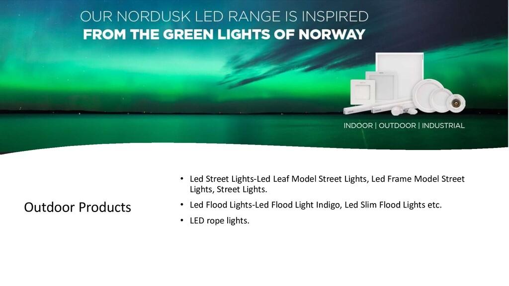 Outdoor Products • Led Street Lights-Led Leaf M...