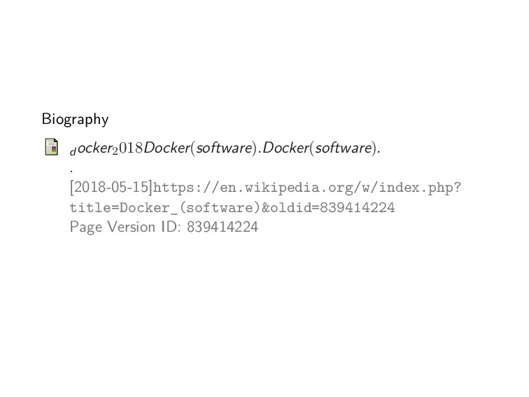 Biography d ocker2018Docker(software).Docker(so...