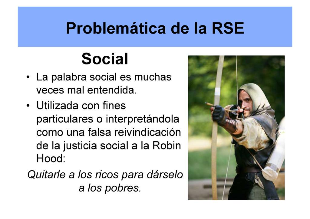 Social • La palabra social es muchas veces mal...