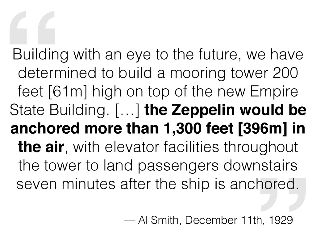 """"""" Building with an eye to the future, we have d..."""