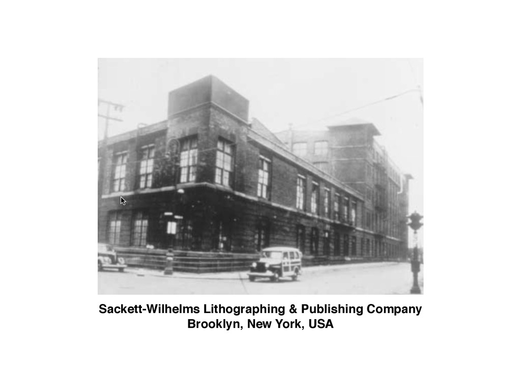 Sackett-Wilhelms Lithographing & Publishing Com...
