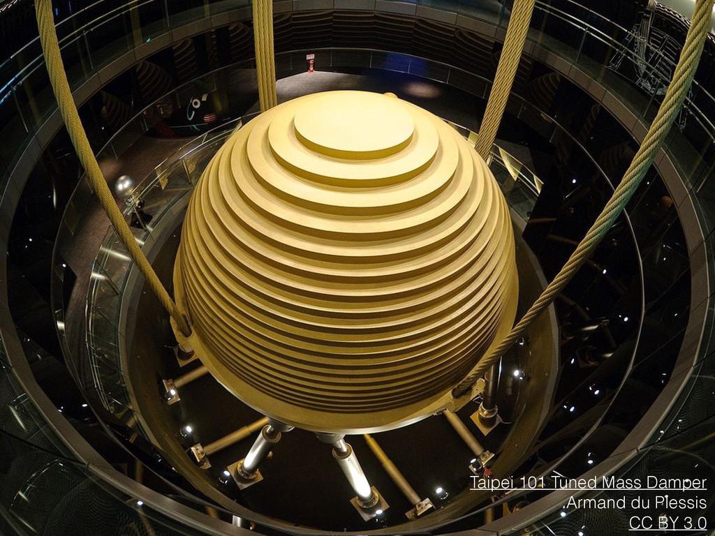 Taipei 101 Tuned Mass Damper Armand du Plessis ...