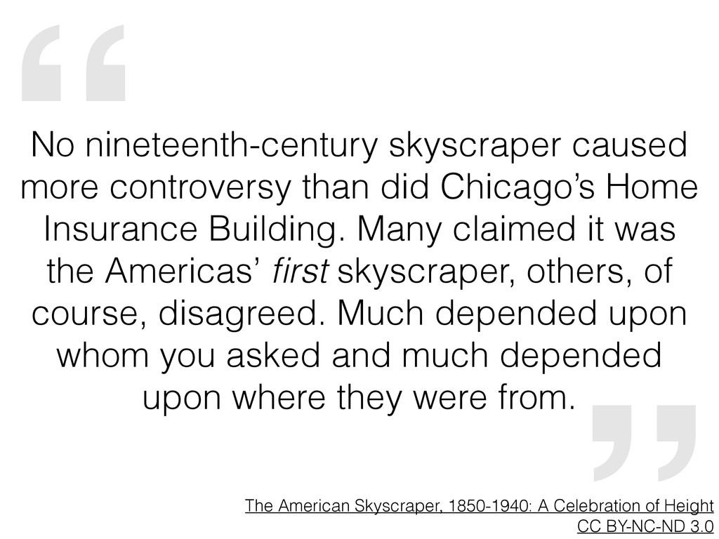 """ The American Skyscraper, 1850-1940: A Celebra..."