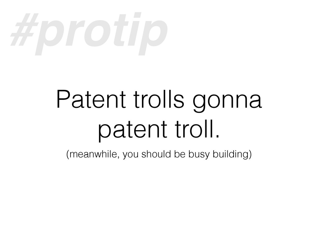 Patent trolls gonna patent troll. (meanwhile, y...