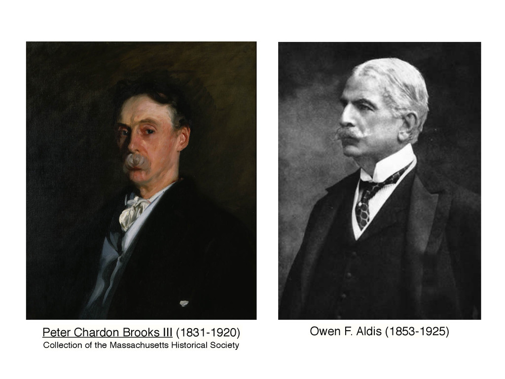 Peter Chardon Brooks III (1831-1920) Collection...
