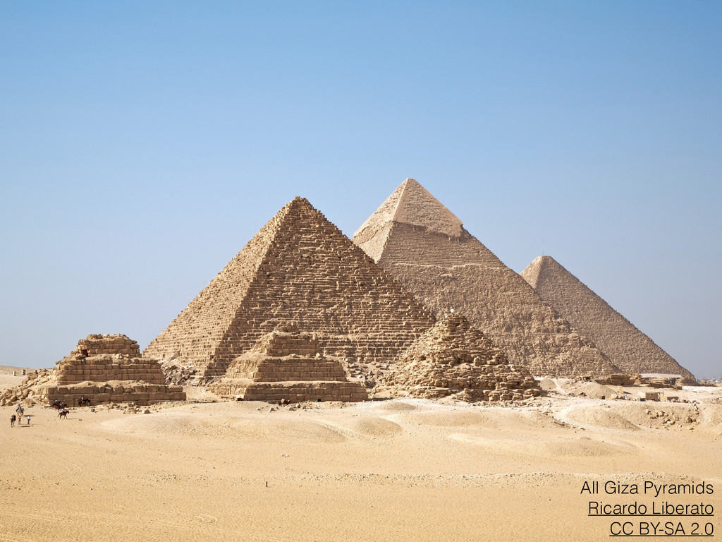 All Giza Pyramids Ricardo Liberato CC BY-SA 2.0