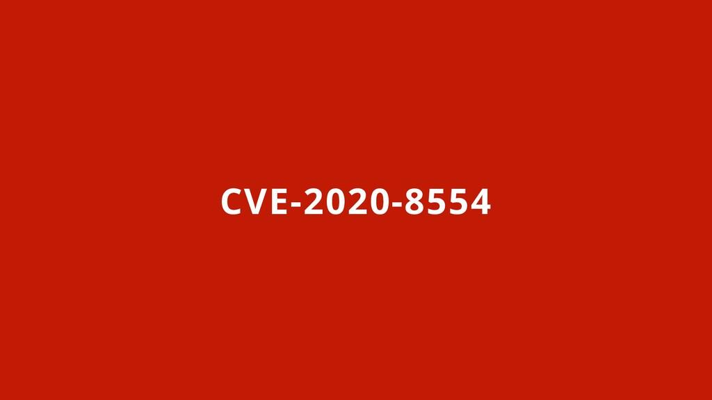 CVE-2020-8554