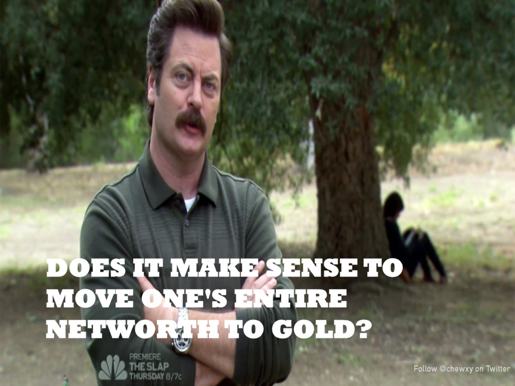 DOES IT MAKE SENSE TO MOVE ONE'S ENTIRE NETWORT...