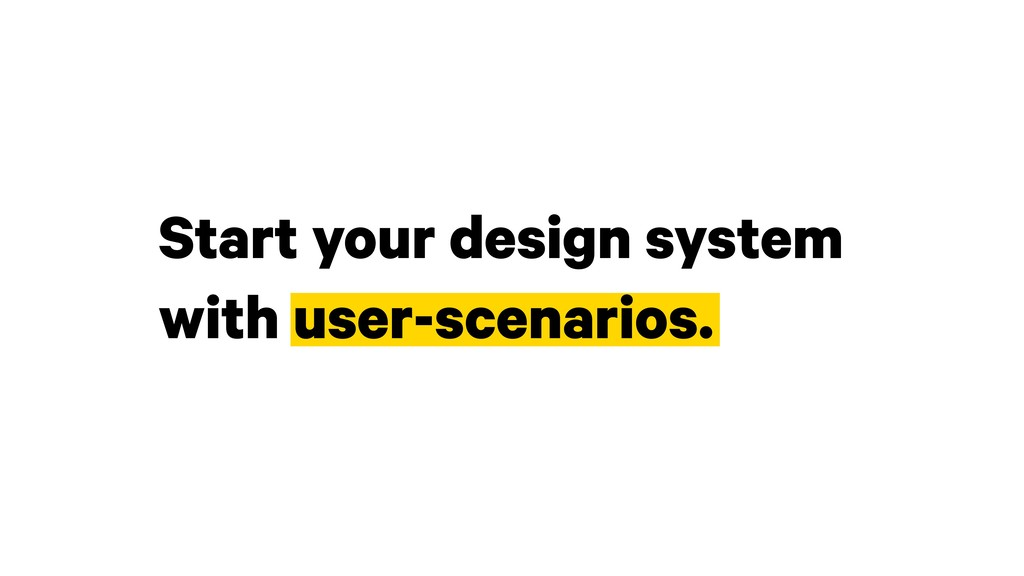 Start your design system 