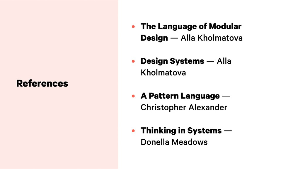 • The Language of Modular Design — Alla Kholmat...