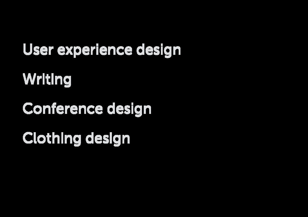 User experience design Writing Conference desig...