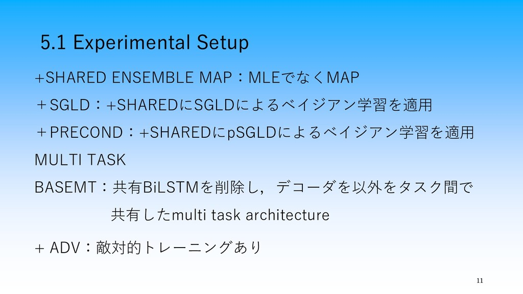 5.1 Experimental Setup 11 +SHARED ENSEMBLE MAP:...