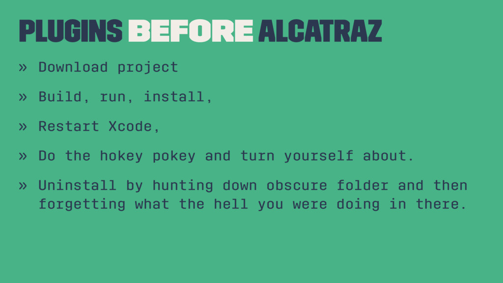 Plugins Before Alcatraz » Download project » Bu...