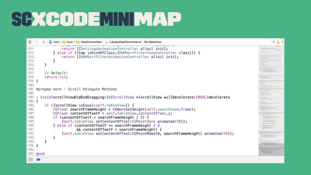 SCXcodeMiniMap