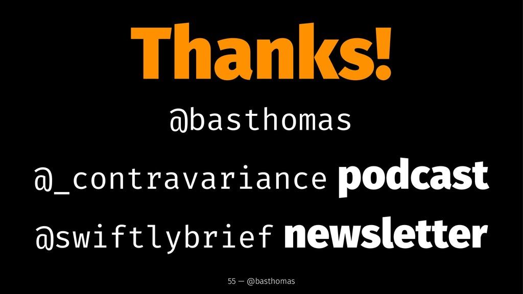 Thanks! @basthomas @_contravariance podcast @sw...