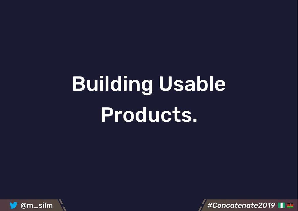 #Concatenate2019 #Concatenate2019 @m_silm Build...