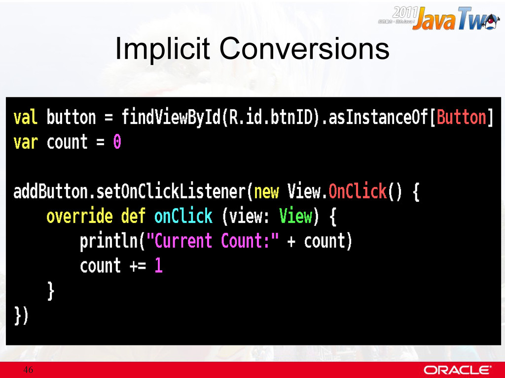 46 Implicit Conversions