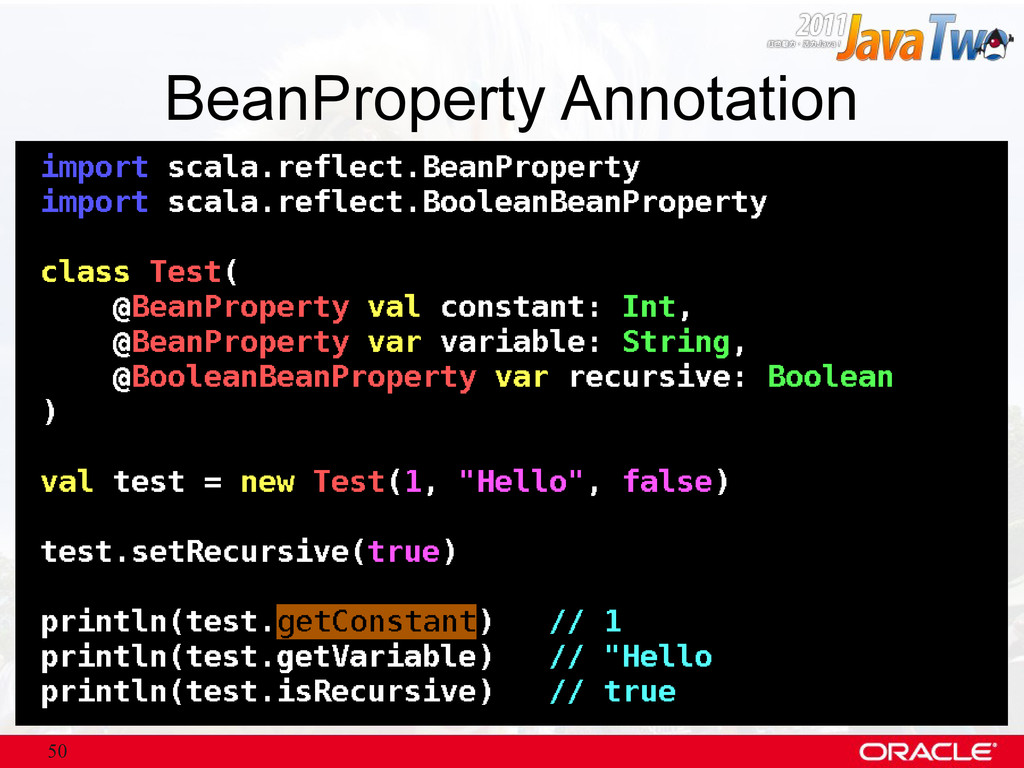 50 BeanProperty Annotation