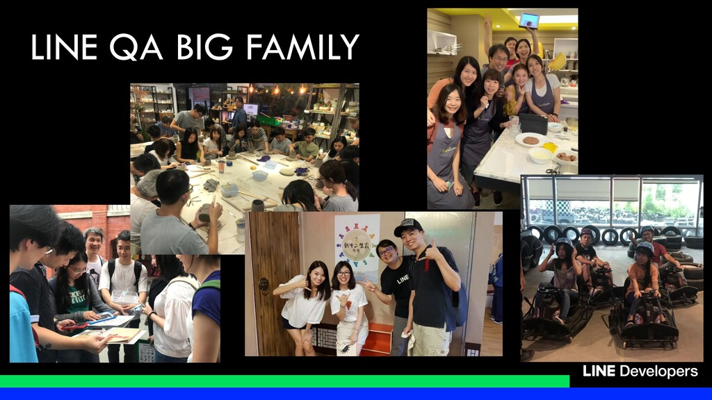 LINE QA BIG FAMILY
