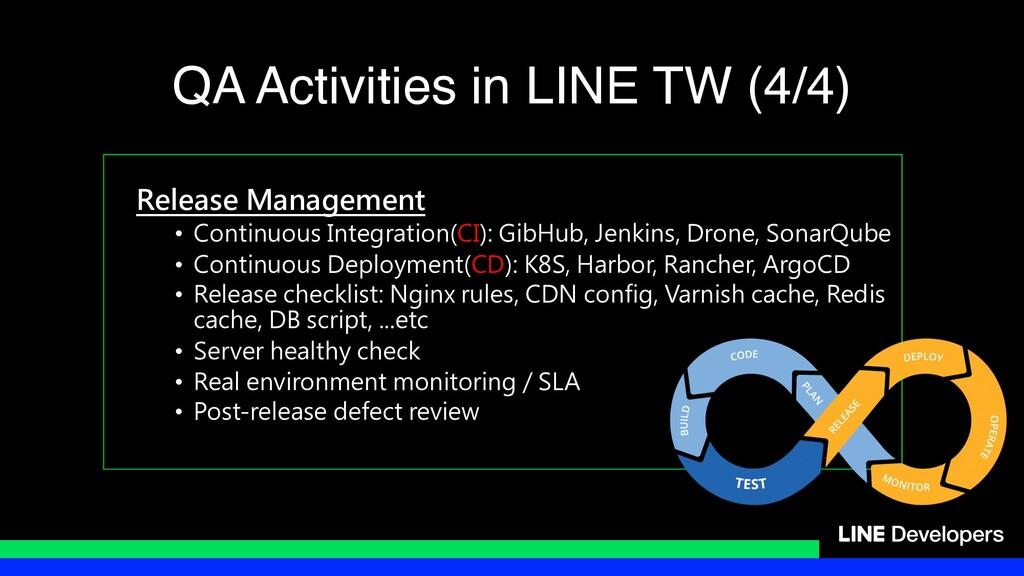 Release Management • Continuous Integration(CI)...