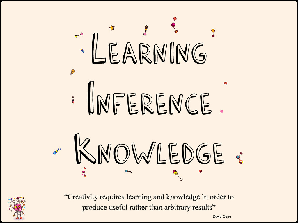 """Knowledge """"Creativity requires learning and ..."""