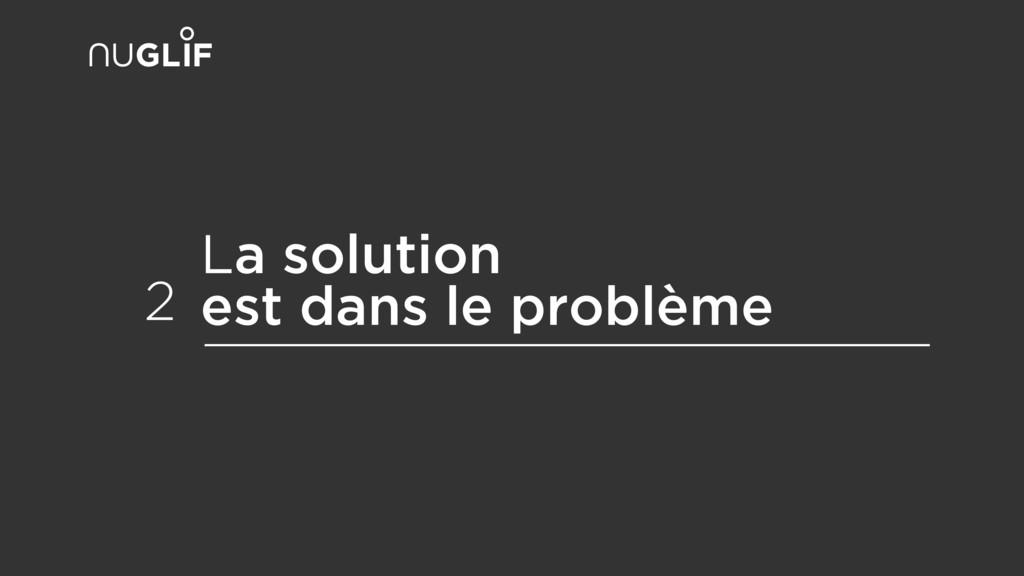 La solution est dans le problème 2